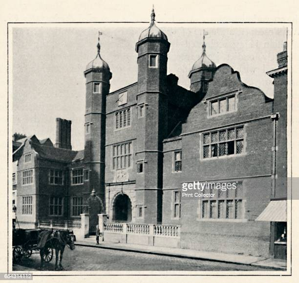 Archbishop Abbots Hospital Guildford 1903 The Hospital of the Blessed Trinity better known as Abbots Hospital is a Grade I listed Jacobean building...
