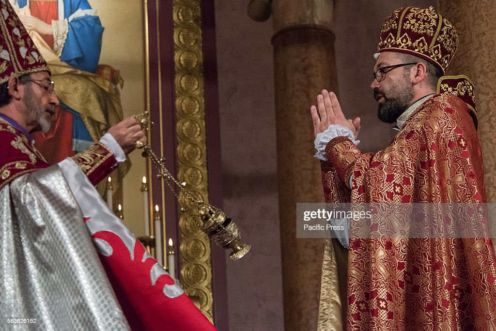 Archbishop Barsamian censes Father Armash Archbishop Khajag Barsamian Prelate of the Eastern Diocese of the Armenian Apostolic Church of America...