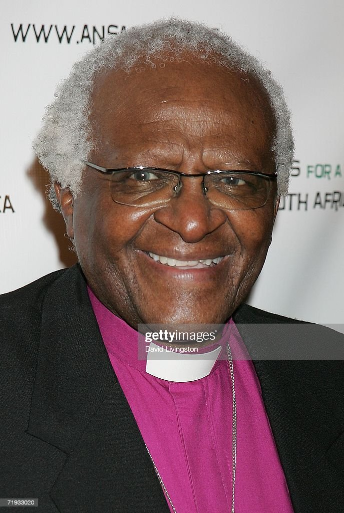 Archbishop <a gi-track='captionPersonalityLinkClicked' href=/galleries/search?phrase=Desmond+Tutu&family=editorial&specificpeople=214730 ng-click='$event.stopPropagation()'>Desmond Tutu</a> attends a gala fundraiser in celebration of his 75th birthday hosted by Artists for a New South Africa (ANSA) at the Regent Beverly Wilshire Hotel on September 18, 2006 in Beverly Hills, California.