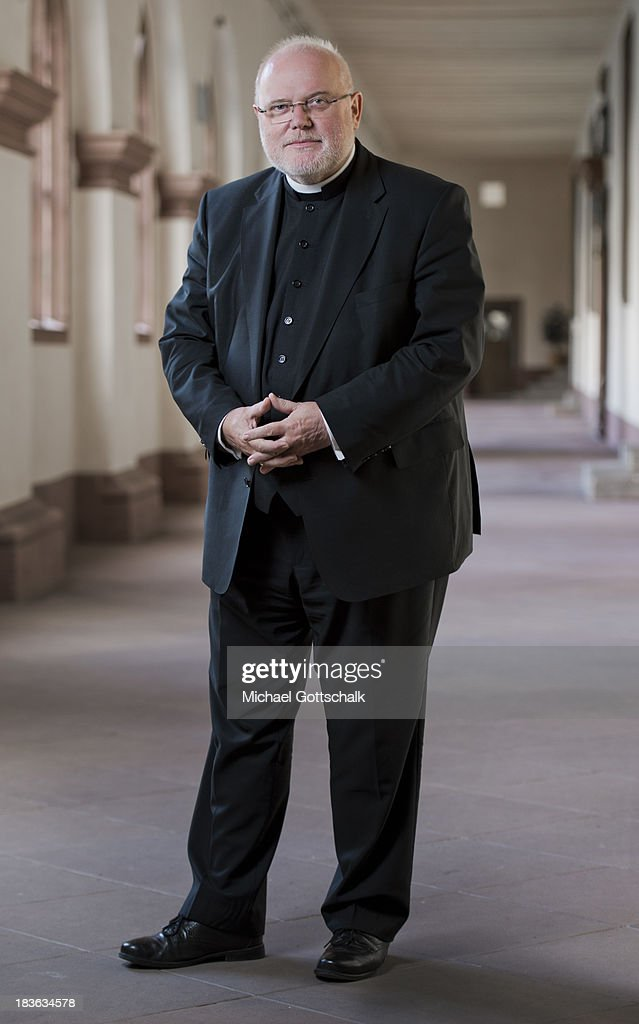 Archbishop of Munich Reinhard Cardinal Marx poses during a portrait session on September 26, 2013 in Fulda, Germany.