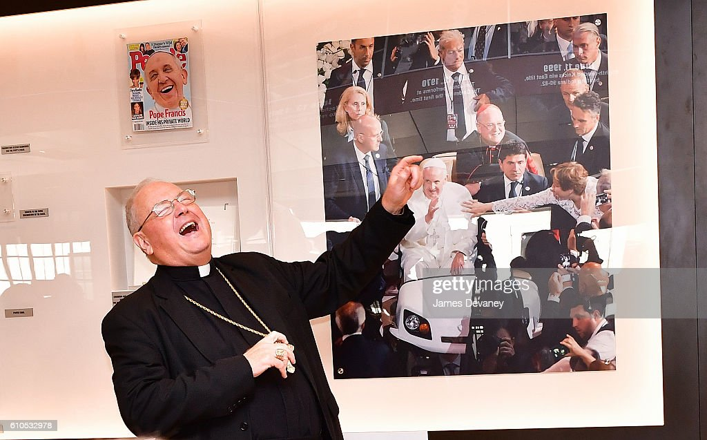 Archbishop of New York Timothy Cardinal Dolan attends the Madison Square Garden's 21st defining moment unveiling at Madison Square Garden on September 26, 2016 in New York City.