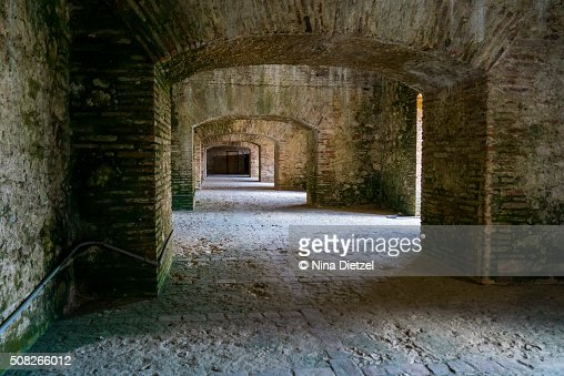 Arched Interior Of The Citadelle Laferri Re Haiti 39 S Most Famous