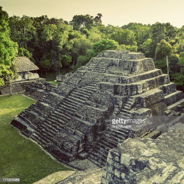 Sito archeologico in guatemala