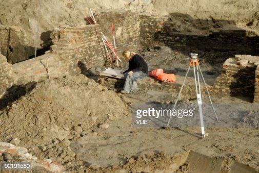 Archeology site