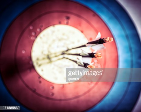 Archery, right on target