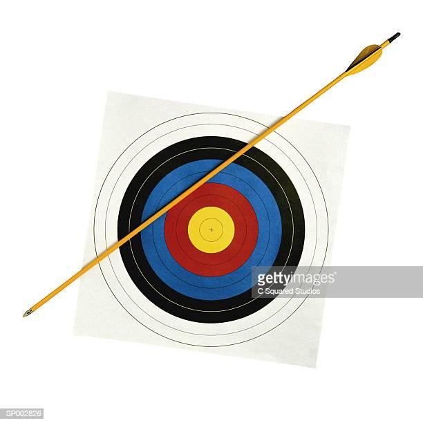 Archery Target and Arrow