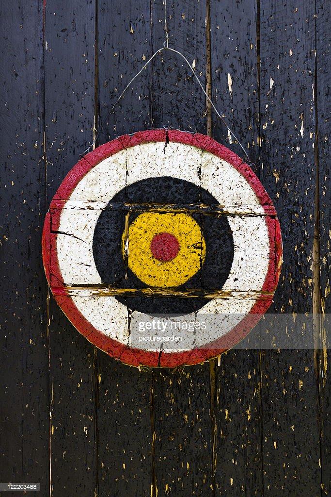 Archery Target : Stock Photo