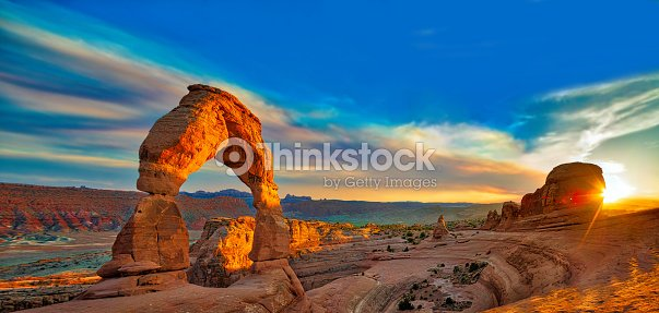 Arches national Park : Stock Photo