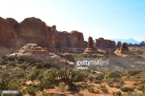 Arches National Park; Utah; Usa : Stock Photo