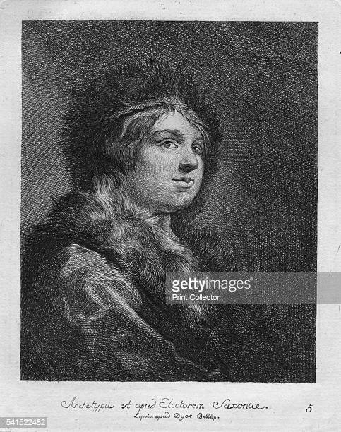 Archetypus est apud Electorem Saxonie Lipsice apud Duck Bibliop' 1771 After Rembrandt Artist Christian Gottfried Schulze