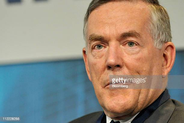 Archibald Cox chairman of the Americas for Barclays Bank Plc speaks at a conference in Washington DC US on Thursday April 14 2011 The Bertelsmann...