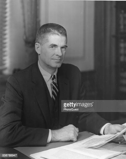 Archibald Cox Solicitor General of the United States under the Kennedy Administration Washington DC January 15 1961