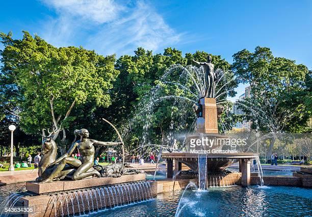 Archibald Fountain Sydney Hyde Park