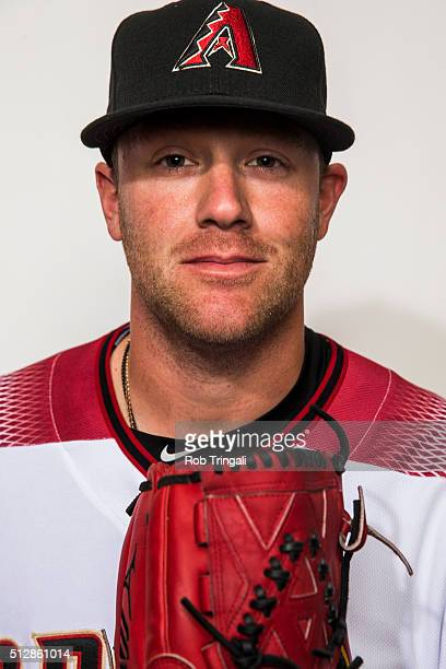 Archie Bradley of the Arizona Diamondbacks poses during photo day at Salt River Fields at Talking Stick on February 28 2016 in Scottsdale Arizona
