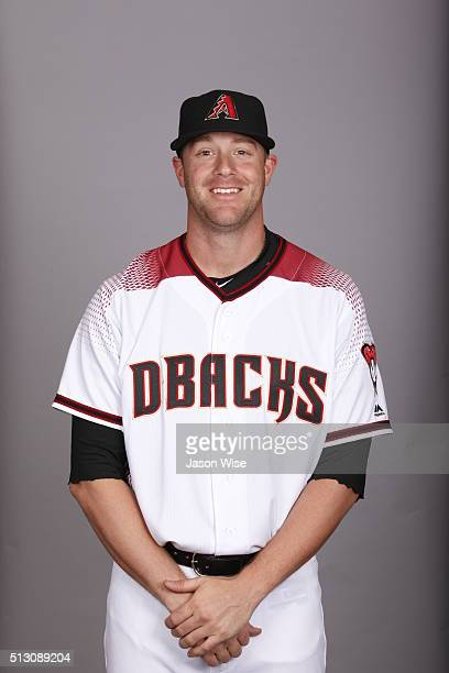 Archie Bradley of the Arizona Diamondbacks poses during Photo Day on Sunday February 28 2016 at Salt River Fields at Talking Stick in Scottsdale...