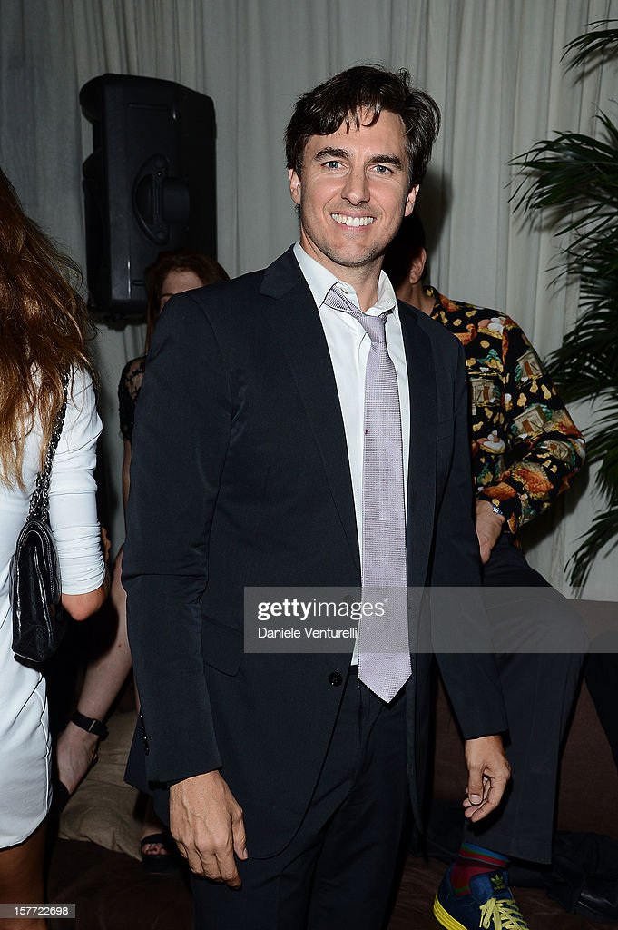 Archie Drury attends Chanel beachside BBQ celebrating Art.sy at Soho Beach House on December 5, 2012 in Miami Beach, Florida.