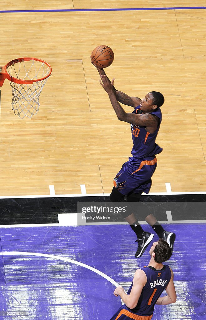 <a gi-track='captionPersonalityLinkClicked' href=/galleries/search?phrase=Archie+Goodwin&family=editorial&specificpeople=9086088 ng-click='$event.stopPropagation()'>Archie Goodwin</a> #20 of the Phoenix Suns shoots a layup against the Sacramento Kings on November 19, 2013 at Sleep Train Arena in Sacramento, California.