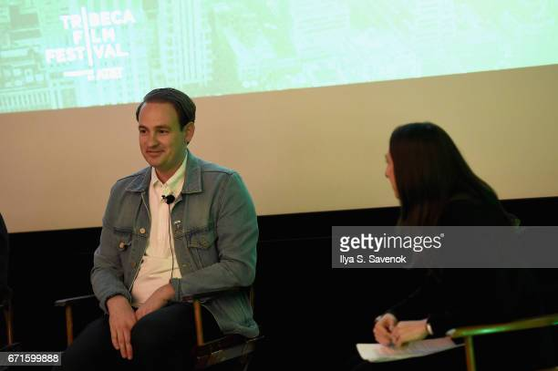 Archie Lee Coates IV speaks on stage at The Cities Project by Heineken on April 22 2017 in New York City