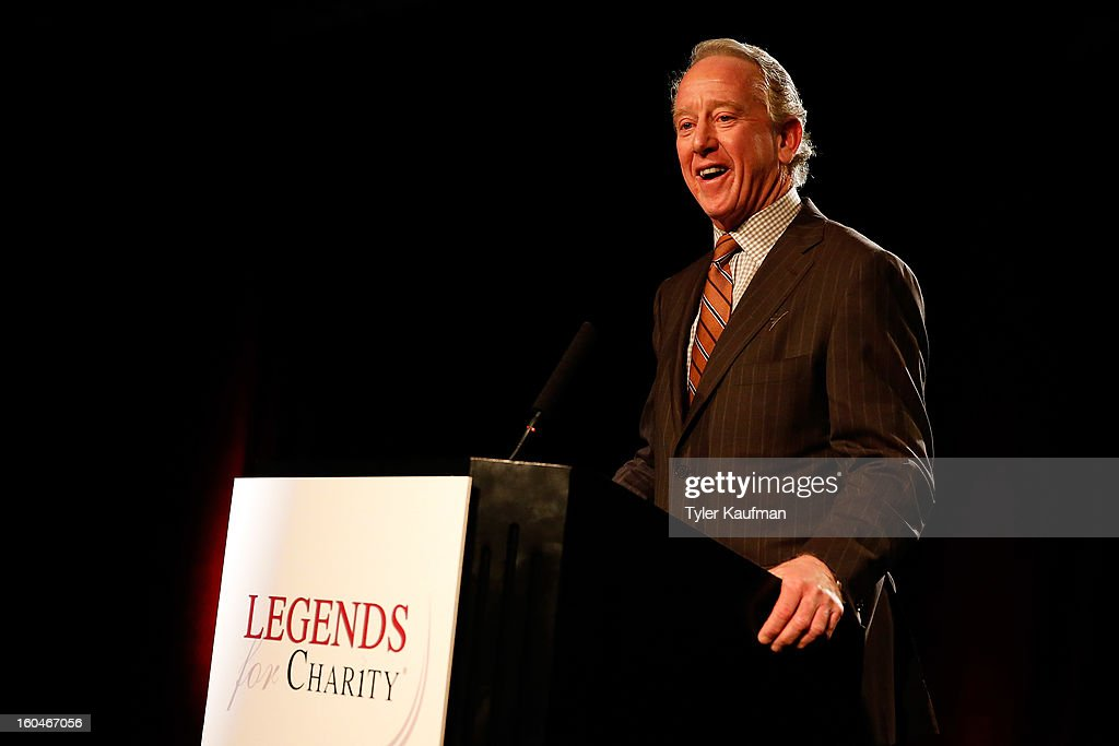 <a gi-track='captionPersonalityLinkClicked' href=/galleries/search?phrase=Archie+Manning&family=editorial&specificpeople=453294 ng-click='$event.stopPropagation()'>Archie Manning</a> attends the 2013 Legends For Charity Dinner where he was honored at the Hyatt Regency New Orleans on January 31, 2013 in New Orleans, Louisiana.