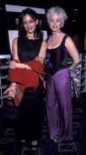 Archie Panjabi and Emma Rydal attend the screening of 'East Is East' on April 27 2000 at the Chelsea West Cinema in New York City