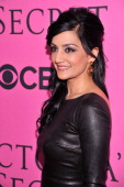 Archie Panjabi attends the 2012 Victoria's Secret Fashion Show at the Lexington Avenue Armory on November 7 2012 in New York City