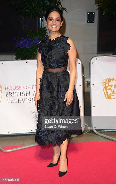 Archie Panjabi attends the After Party dinner for the House of Fraser British Academy Television Awards at The Grosvenor House Hotel on May 10 2015...