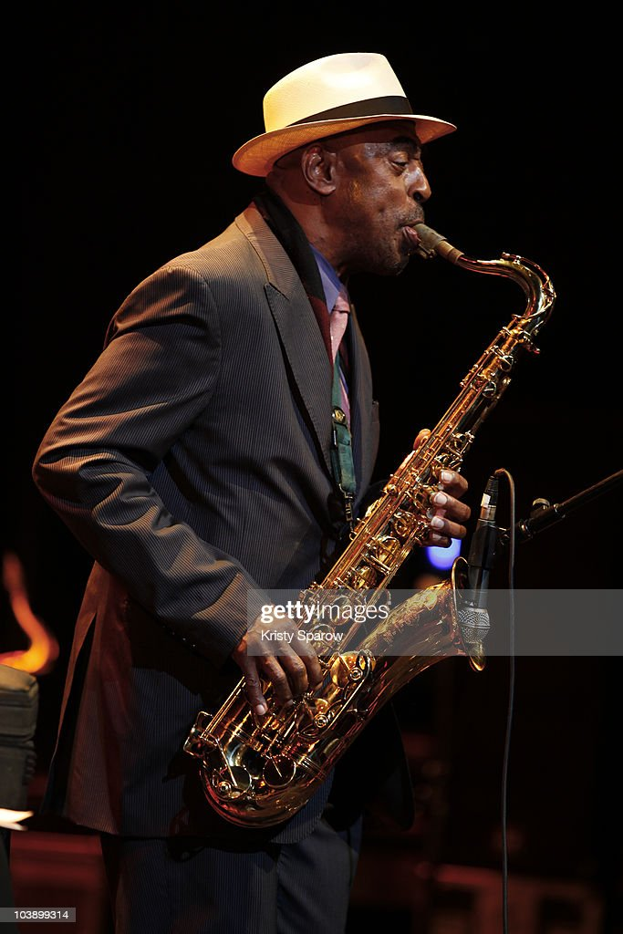 <a gi-track='captionPersonalityLinkClicked' href=/galleries/search?phrase=Archie+Shepp&family=editorial&specificpeople=961679 ng-click='$event.stopPropagation()'>Archie Shepp</a> performs onstage during the Jazz A La Villette Festival at Grande Halle de La Villette on September 7, 2010 in Paris, France.