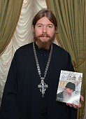 Archimandrite Tikhon Abbot of the Moscow Sretensky Monastery and author of the 'Everyday Saints' launches the Englishlanguage edition at the Russian...