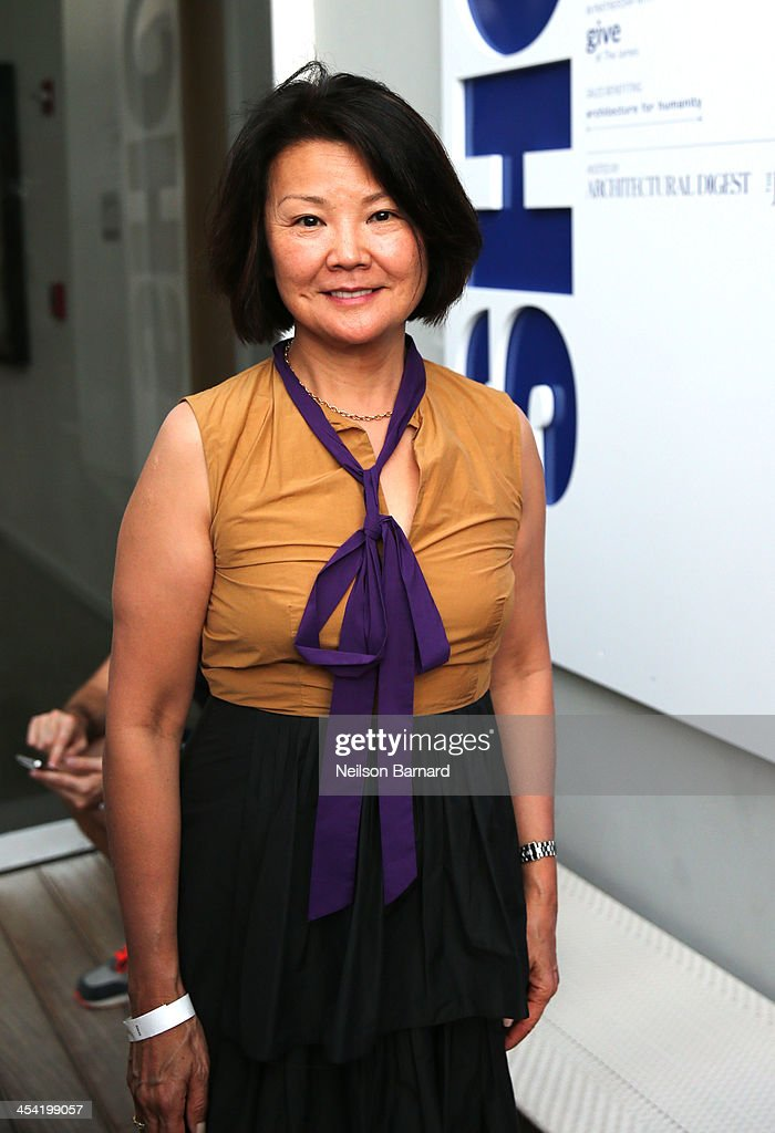 Architecht/Designer Toshiko Mori attends AD Oasis at James Royal Palm Hotel on December 7, 2013 in Miami Beach, Florida.
