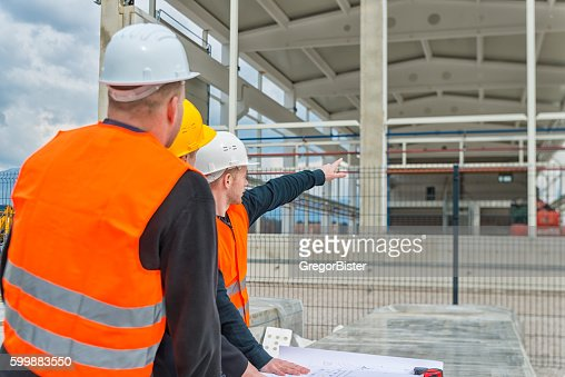 architect and construction team stock photo | getty images