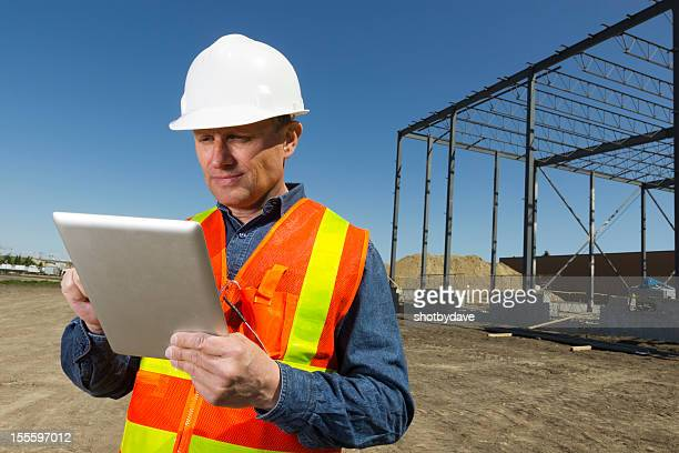 Architect and Tablet