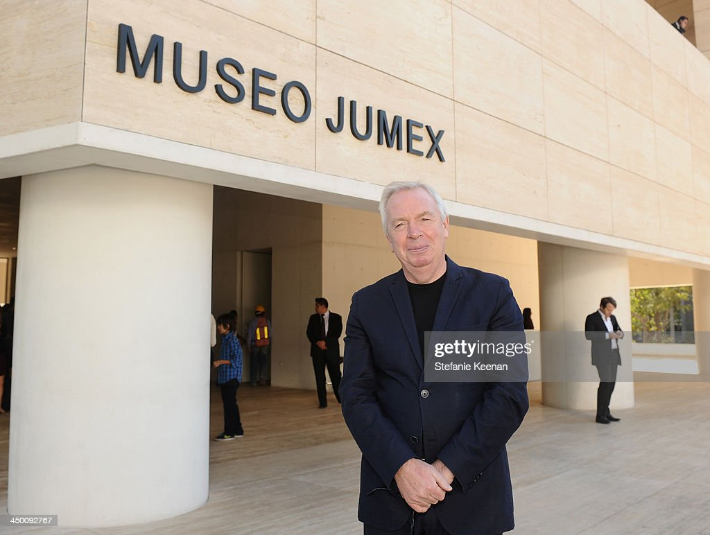 Architect <a gi-track='captionPersonalityLinkClicked' href=/galleries/search?phrase=David+Chipperfield&family=editorial&specificpeople=2103568 ng-click='$event.stopPropagation()'>David Chipperfield</a> attends a private preview at Museo Jumex on November 16, 2013 in Mexico City, Mexico.