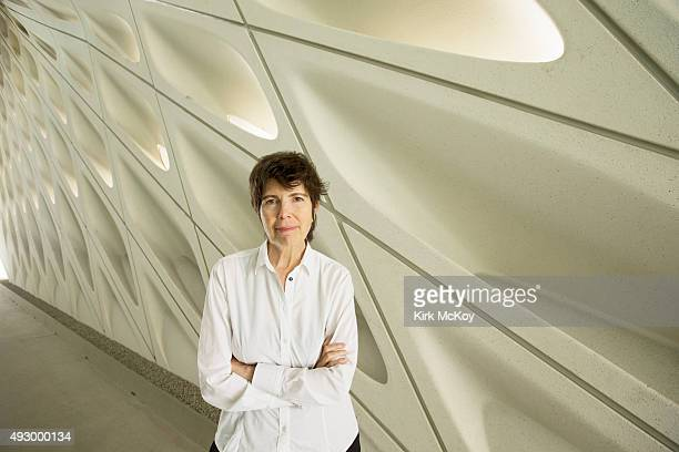 Architect Elizabeth Diller is photographed for Los Angeles Times on August 7 2015 in Los Angeles California PUBLISHED IMAGE CREDIT MUST BE Kirk...