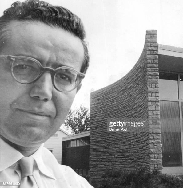 Architect Eugene T Sternberg 'A building should be an inspiration' he says Credit The Denver Post