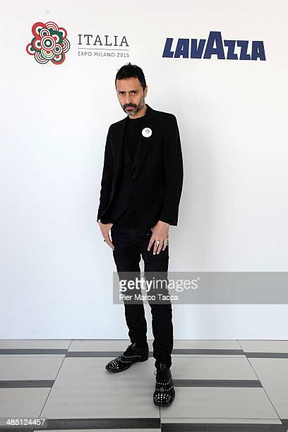 Architect Fabio Novembre attends the Lavazza at Expo 2015 press conference on April 16 2014 in Milan Italy Lavazza will be the official coffee...