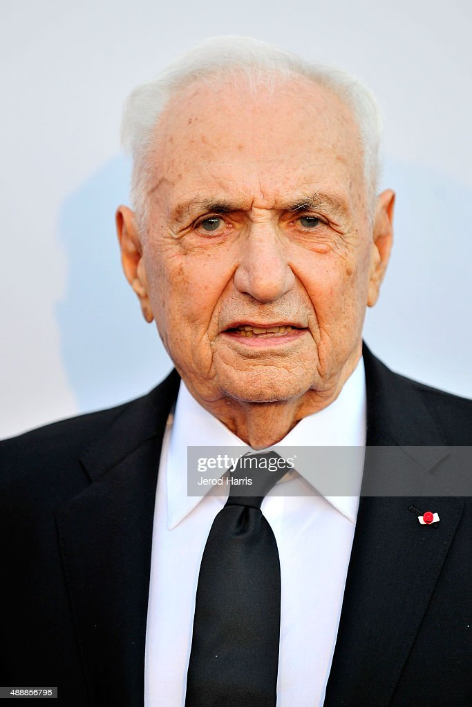 Architect Frank Gehry attends The Broad Museum Black Tie Inaugural Dinner at The Broad on September 17, 2015 in Los Angeles, California.