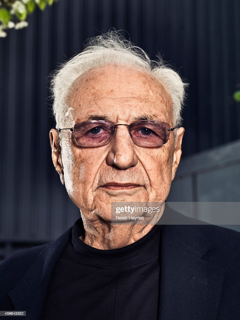 Architect <a gi-track='captionPersonalityLinkClicked' href=/galleries/search?phrase=Frank+Gehry&family=editorial&specificpeople=131842 ng-click='$event.stopPropagation()'>Frank Gehry</a> is photographed for ES magazine at Battersea Power station where a housing scheme he has designed will be built alongside one of London's architectural icons. April 9, 2014 in London, England.