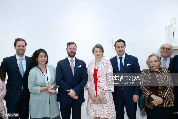Architect Gauthier Destenay Aude Tahon GrandDuc Heritier Guillaume GrandeDuchesse Heritiere Stephanie De Luxembourg Prime Minister of Luxembourg...