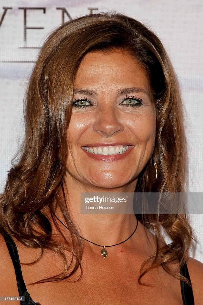 Architect Gulla Jonsdottir attends the artist's reception for Billy Zane's solo art exhibition 'Seize The Day Bed' on August 21, 2013 in Los Angeles, California.
