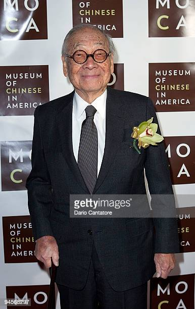 Architect IM Pei attends the Museum of Chinese in America 30th Anniversary Gala at Capitale on December 16 2009 in New York City