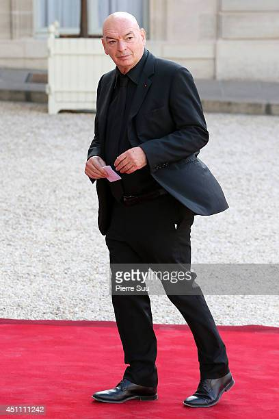 Architect Jean Nouvel attends State Dinner In Honor Of Sheikh Tamim Bin Hamad AlThani Emir of Qatar at Elysee Palace on June 23 2014 in Paris France