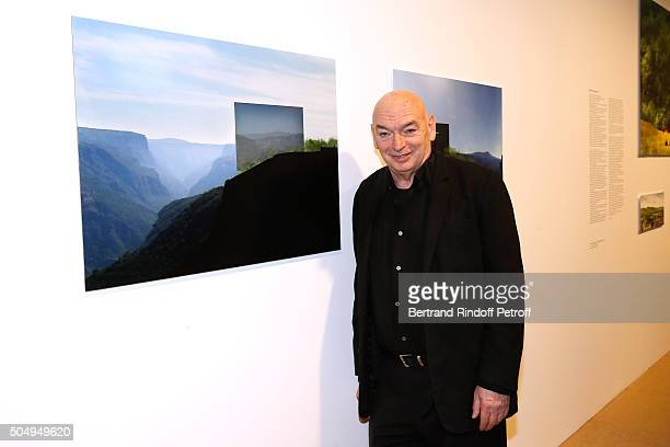 Architect Jean Nouvel attends the 'Jean Nouvel and Claude Parent Musees a venir' Exhibition Opening at Galerie Azzedine Alaïa on January 13 2016 in...