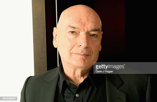Architect Jean Nouvel attends the opening of his Triptyques exhibition at the Gagosian Gallery on April 15 2014 in London England