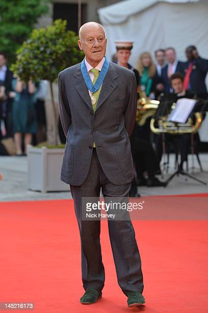 Architect Lord Norman Foster attends A Celebration of the Arts at Royal Academy of Arts on May 23 2012 in London England
