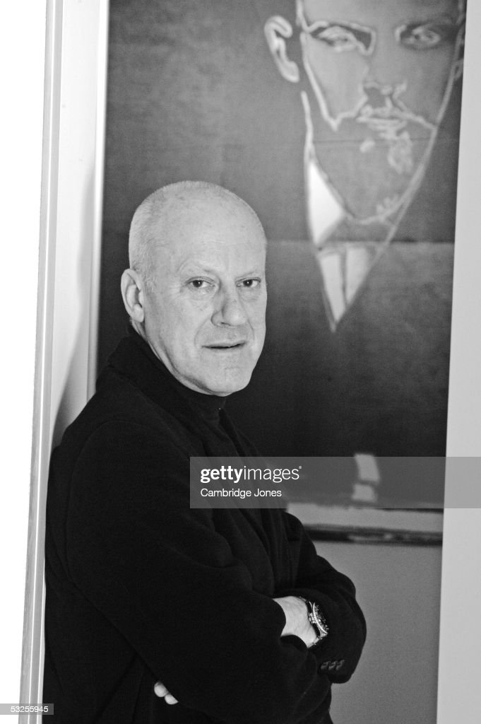 Architect Lord <a gi-track='captionPersonalityLinkClicked' href=/galleries/search?phrase=Norman+Foster&family=editorial&specificpeople=138395 ng-click='$event.stopPropagation()'>Norman Foster</a> poses at home on the 22nd of January 2004.