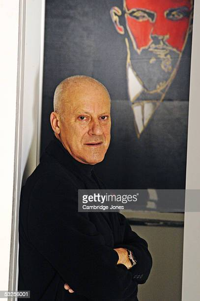 Architect Lord Norman Foster poses at home on the 22nd of January 2004