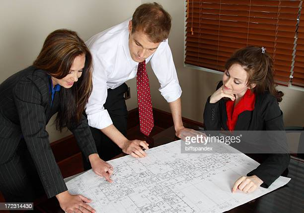 Architect Meeting With Clients