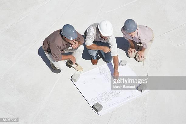 Architecte plan d'observation de propriétaires