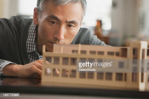 Middle aged models stock photos and pictures getty images for Architect at work