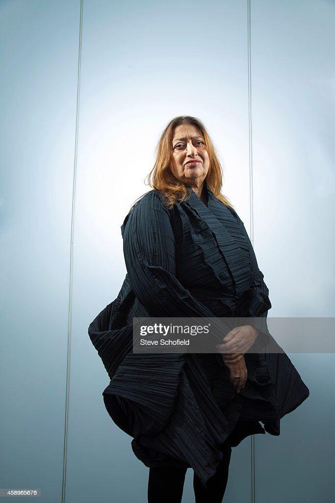Architect <a gi-track='captionPersonalityLinkClicked' href=/galleries/search?phrase=Zaha+Hadid&family=editorial&specificpeople=560782 ng-click='$event.stopPropagation()'>Zaha Hadid</a> is photographed on April 27, 2011 in London, England.